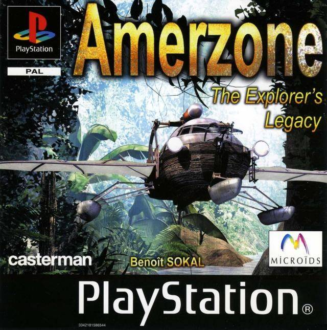 Torrent Super Compactado Amerzone The Explorers Legacy PS1