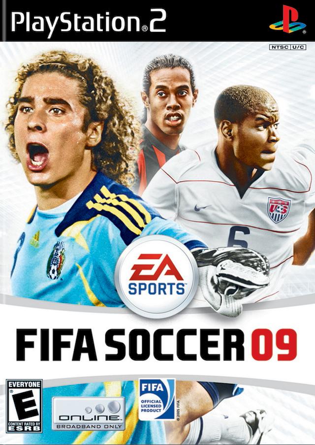 FIFA Soccer 09 PSP Game.