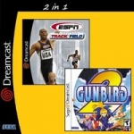 ESPN International Track  Field + Gunbird 2